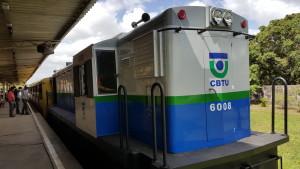 CBTU entrega mais uma locomotiva modernizada em João Pessoa