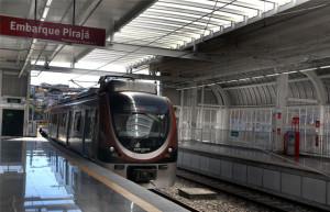 Trem do Metrô Bahia