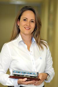 Roberta Marchesi, superintendente da ANPTrilhos