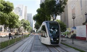 Rio inicia teste do VLT. Foto: Divulgação/Prefeitura do Rio de Janeiro
