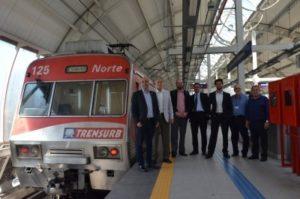 Trensurb recebe comitiva do Ministério das Cidades
