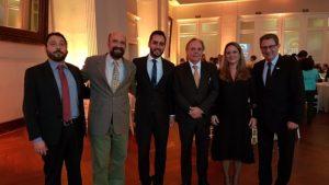 Fernando Paes (ANTF), Pedro Machado (AEAMESP), Gustavo Bambini (ANTF), João Gouveia (ANPTrilhos), Roberta Marchesi (ANPTrilhos), Vicente Abate (ABIFER)