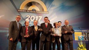 Entrega do prêmio Ferroviário Padrão de Passageiros