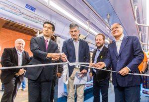 Governador do Estado de São Paulo, Geraldo Alckmin entrega novos trens da CPTM