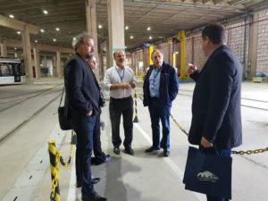Visita ao Centro Integrado de Operação e Manutenção do VLT Carioca