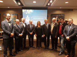 Dirigentes e executivos do setor metroferroviário participaram do Encontrem 2017