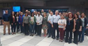 Os participantes e palestrantes do workshop conheceram o CCO do Metrô de São Paulo