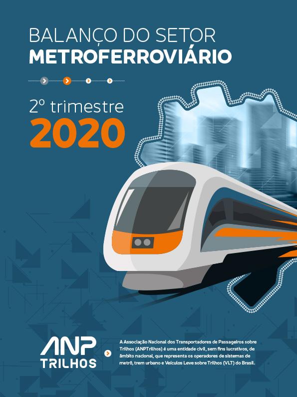 Balanço do Setor Metroferroviário 2º tri/2020 – Reflexos da Pandemia do Coronavírus
